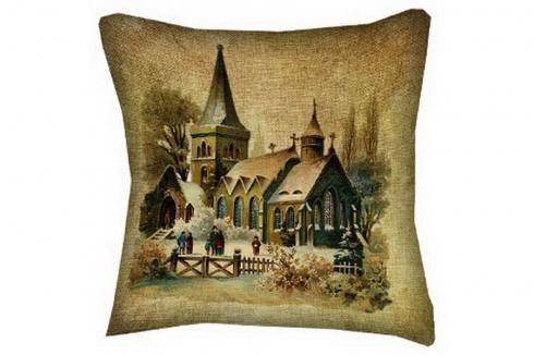 Автомобильная подушка Церковь