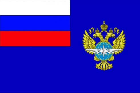 Флаг Министерства транспорта РФ