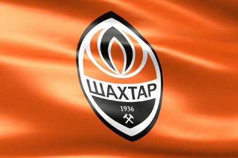 Флаг ФК Шахтёр