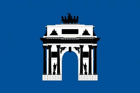 Флаг ЗАО Москвы