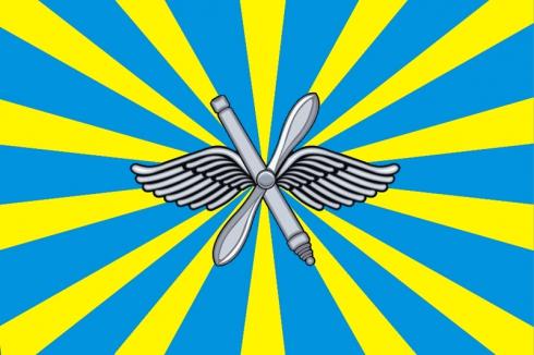 Флаг Военно-воздушных сил РФ